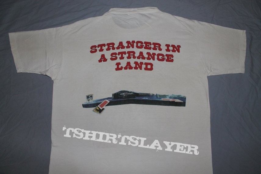 Iron Maiden Stranger w/gun white T