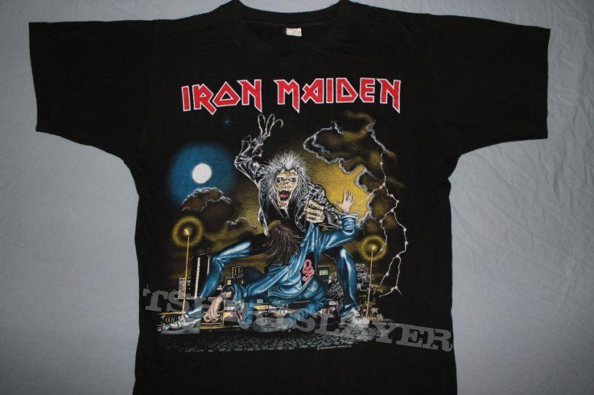 Iron Maiden Europe 1990 No Prayer on the Road w/Vienna
