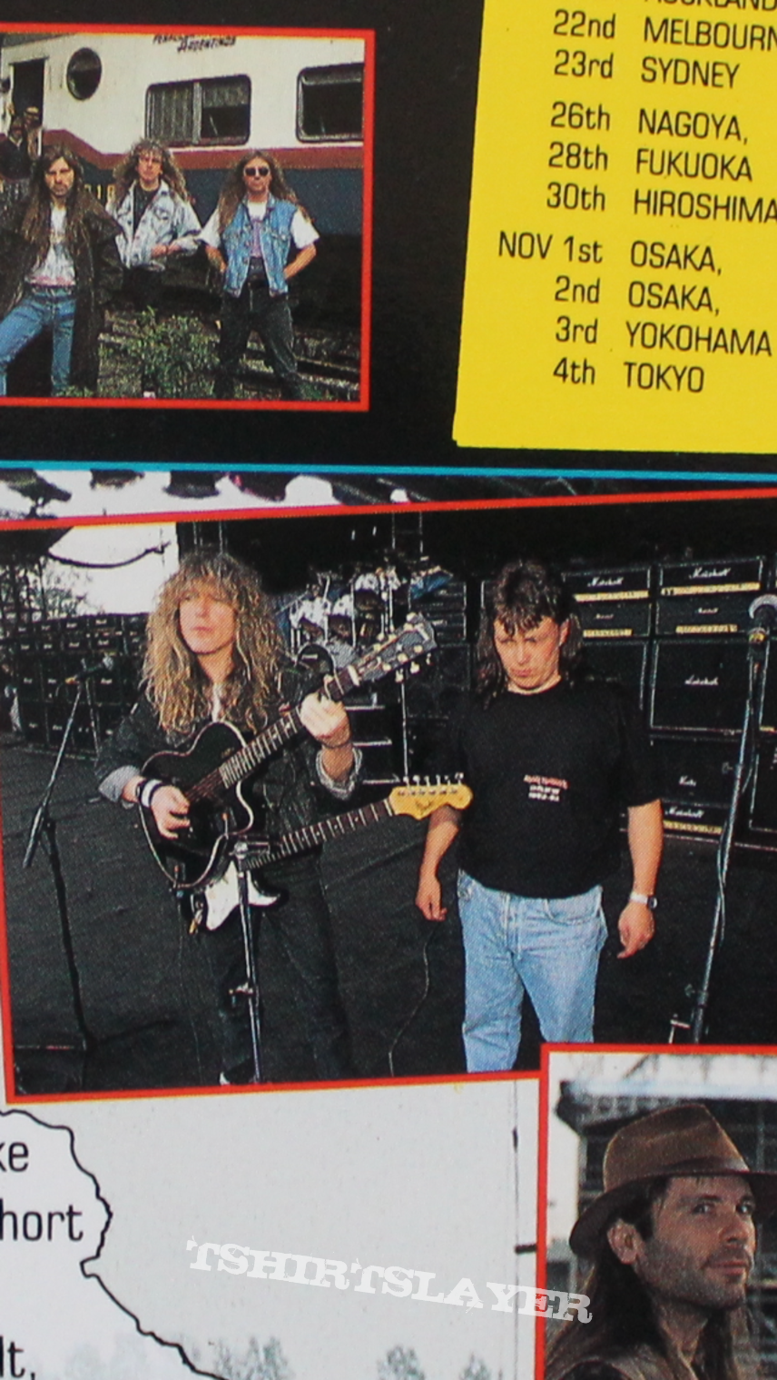 Iron Maiden Crew 1992/93