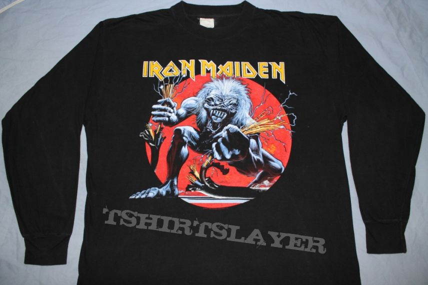 Iron Maiden A Real Live One longsleeve