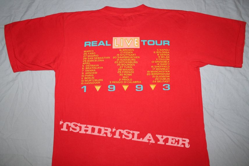 Iron Maiden A Real live Tour - Ed Harris red T