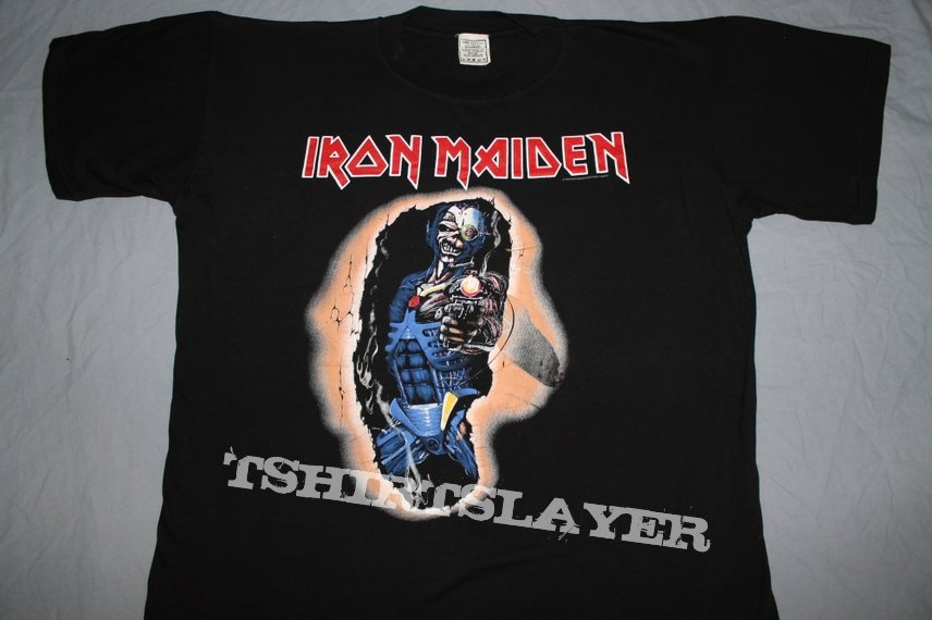 Iron Maiden Door poster 86 black T