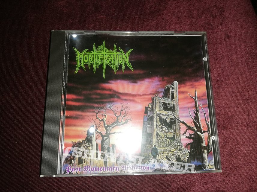 Mortification - Post Momentary Affliction cd