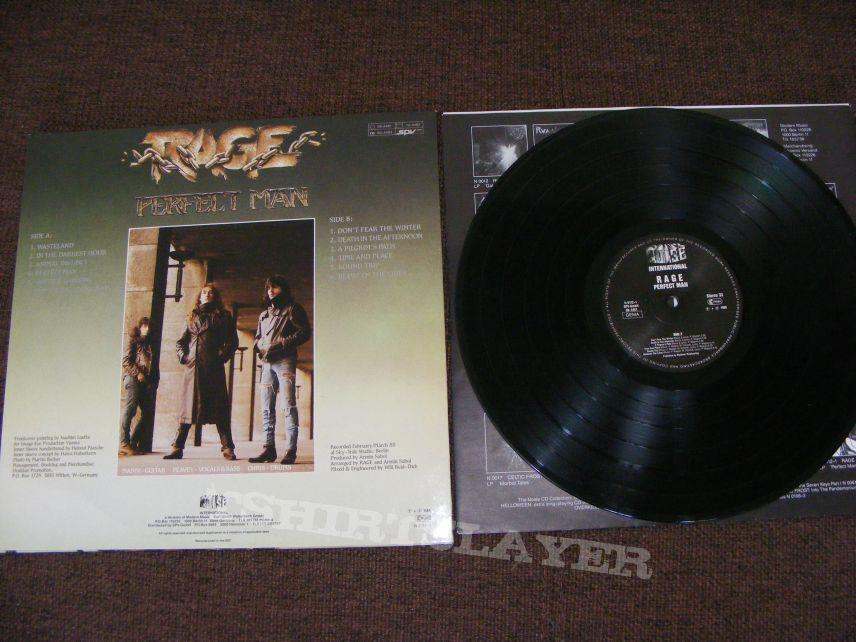 Rage - Perfect Man vinyl