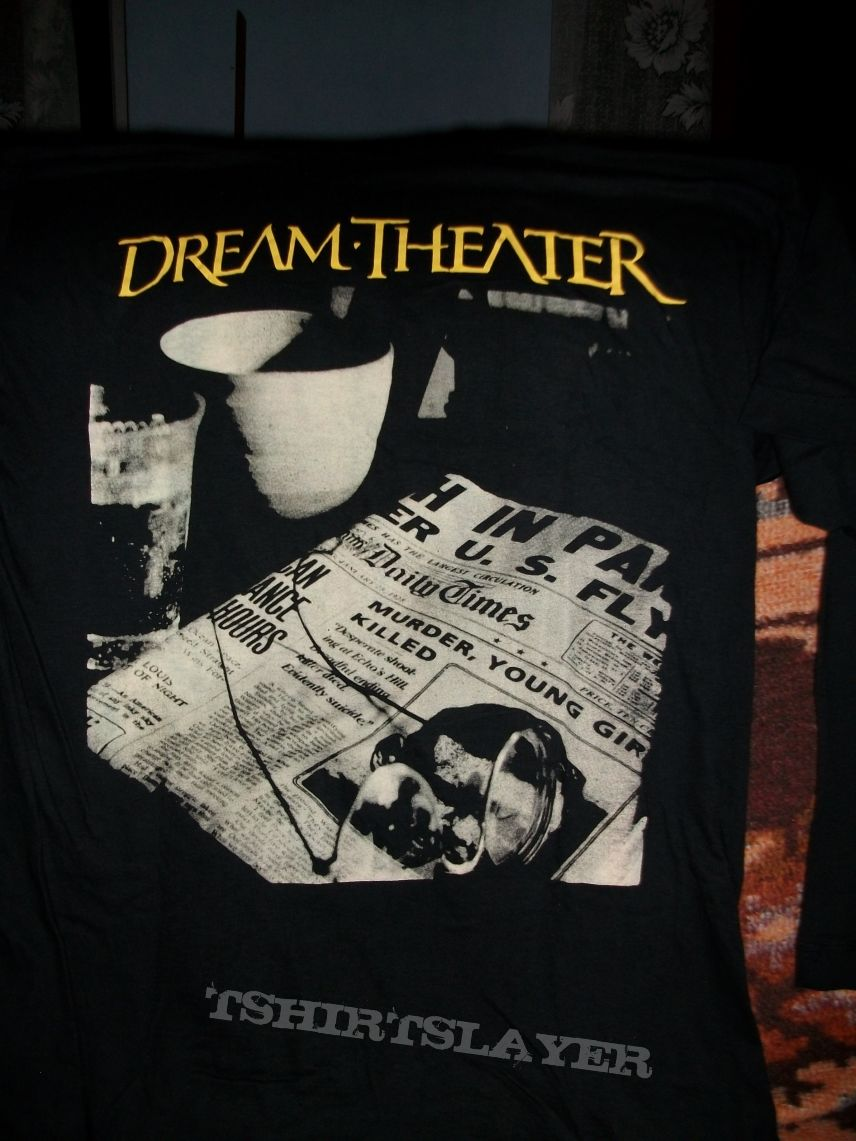 Dream Theater Metropolis Pt 2 Scenes From A Memory Tshirtslayer Tshirt And Battlejacket Gallery