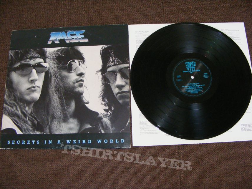 Rage - Secrets In A Weird World vinyl