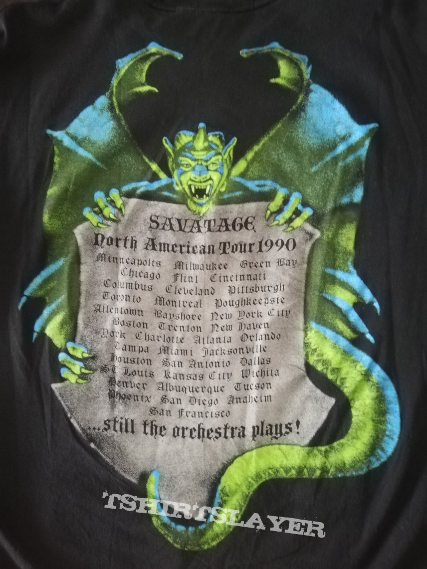 Savatage - Of Rage And War Tour '90