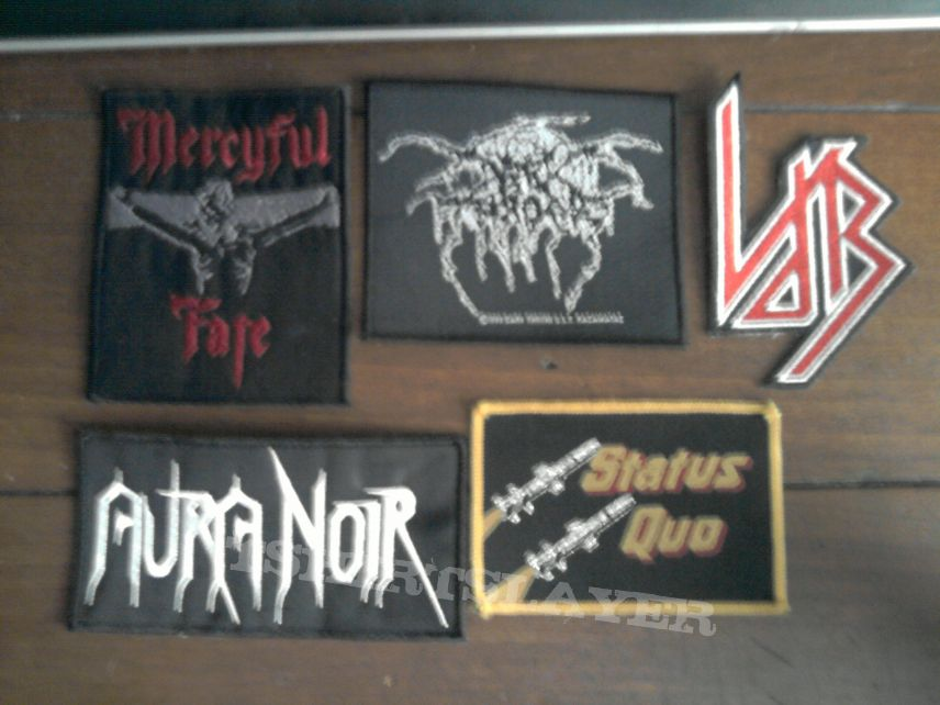 Patch - some patches i picked up at Dokk'em Open Air