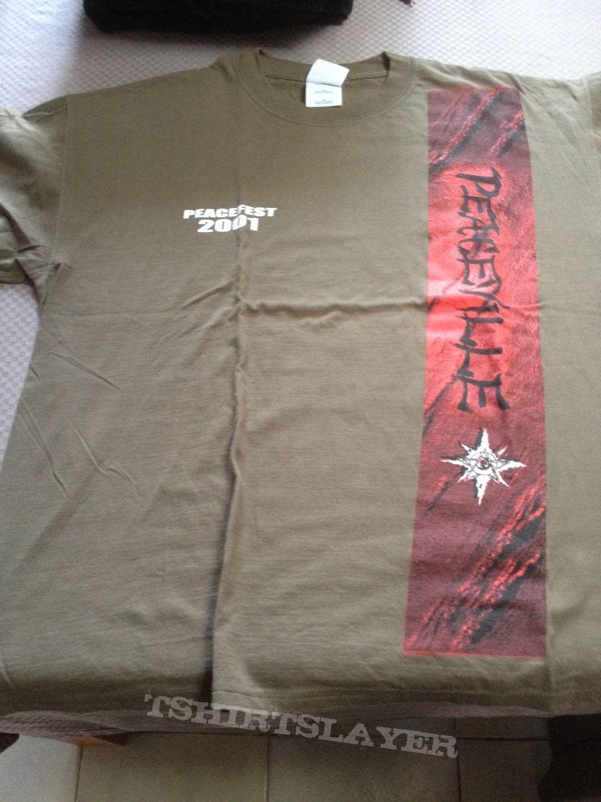 Peaceville, peacefest 2001 shirt