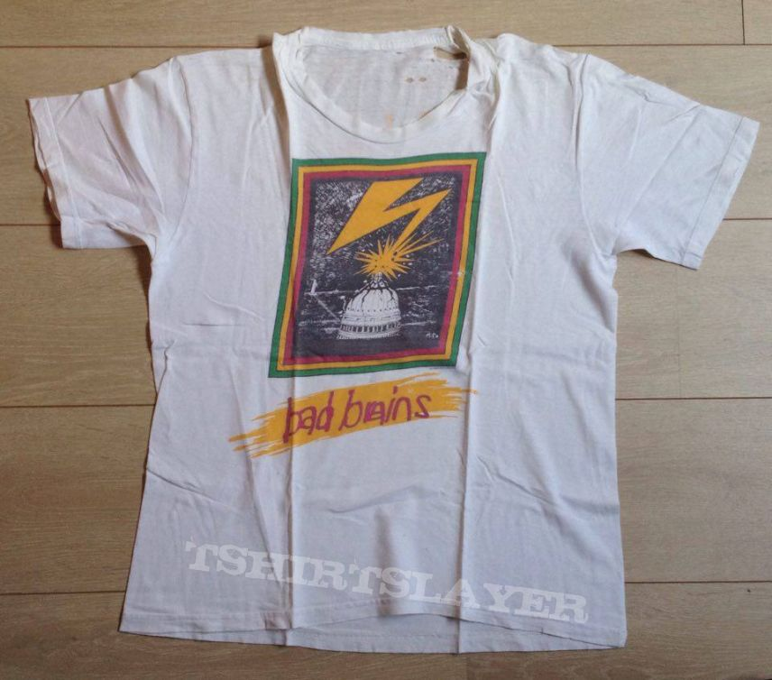 Bad Brains '89 tourshirt