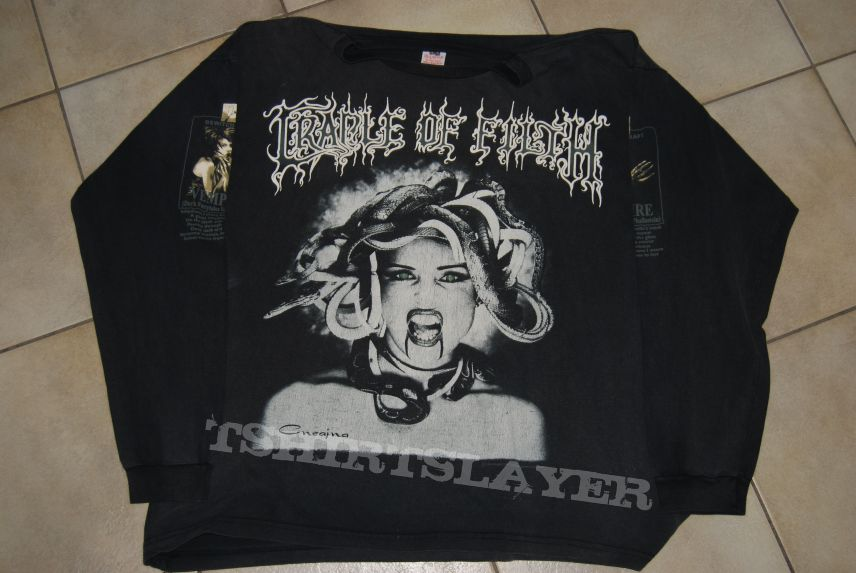 Cradle of Filth 1995 Vempire longsleeve