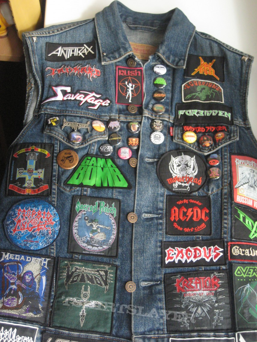 Kutte with Motorhead backpatch update - August 2013