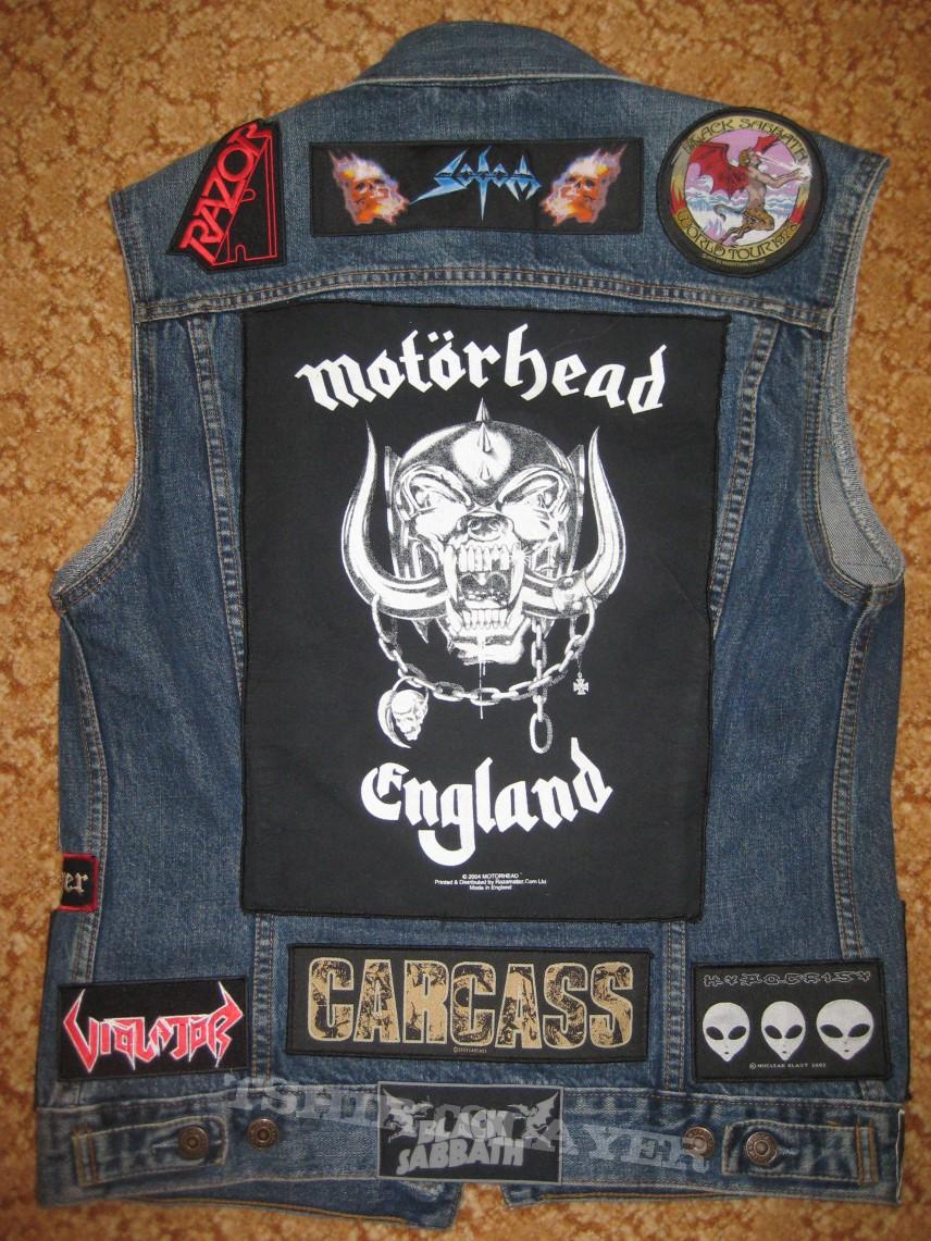 Battlejacket with Motorhead backpatch