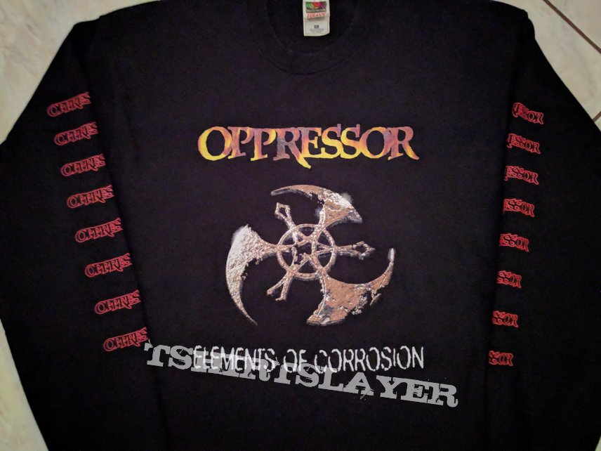 OPPRESSOR Elements Of Corrosion Tour LS