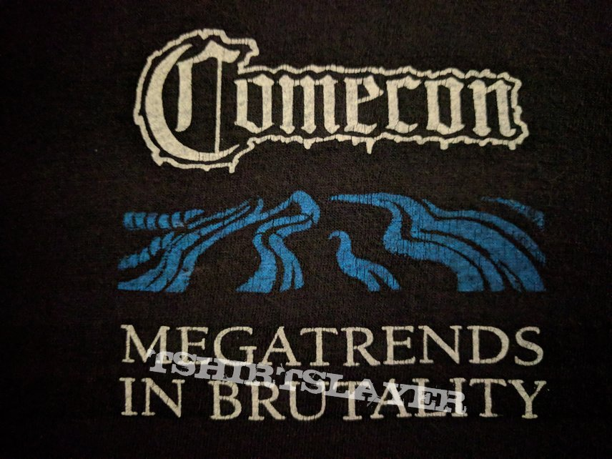 COMECON Megatrends In Brutality Tour Shirt