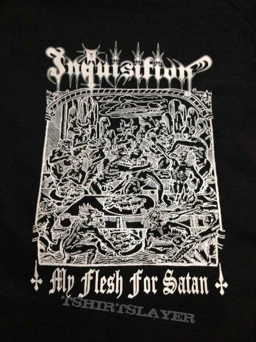 Hooded Top - Inquisition My Flesh for Satan
