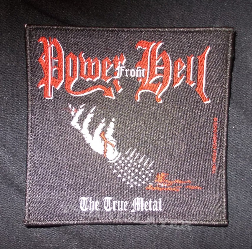 Power from hell sublimated back patch.