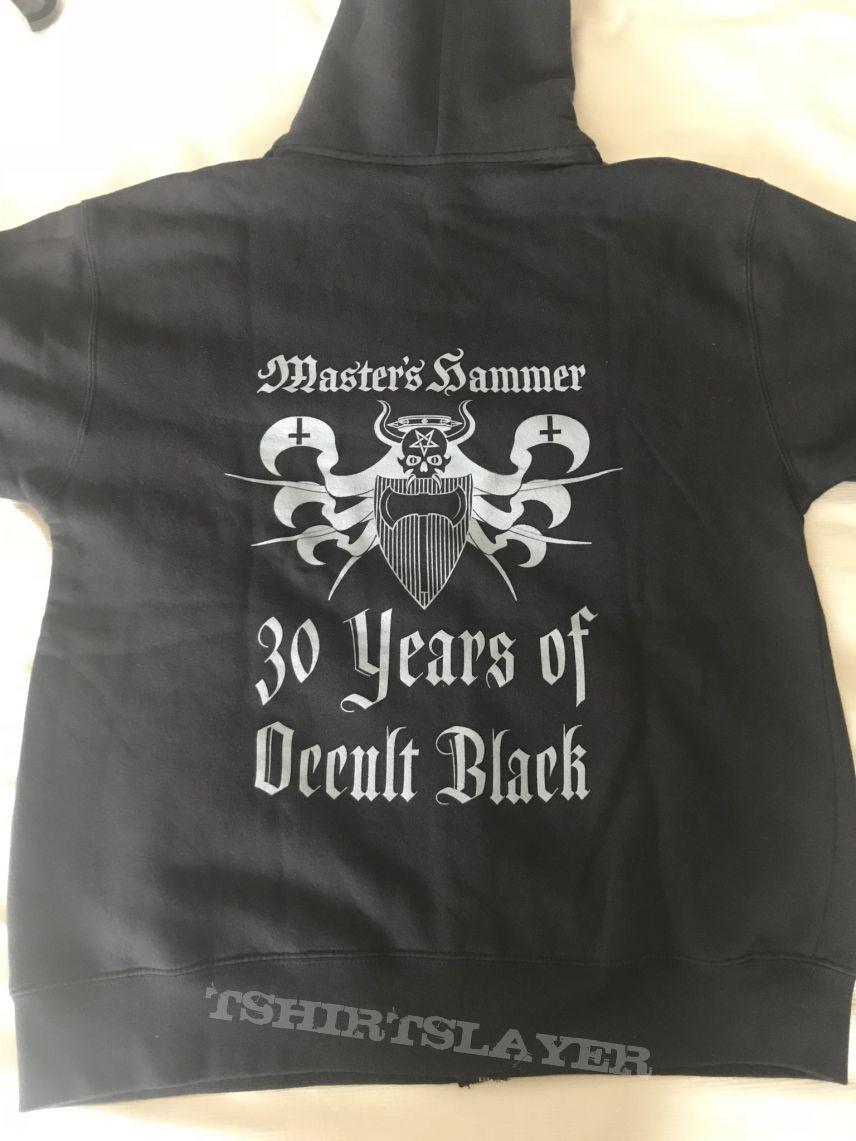Master's Hammer - 30 years anniversary zip hoodie