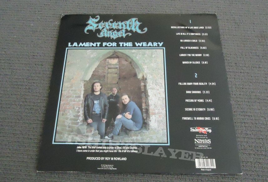 Seventh Angel -Lament for the Weary  -Vinyl