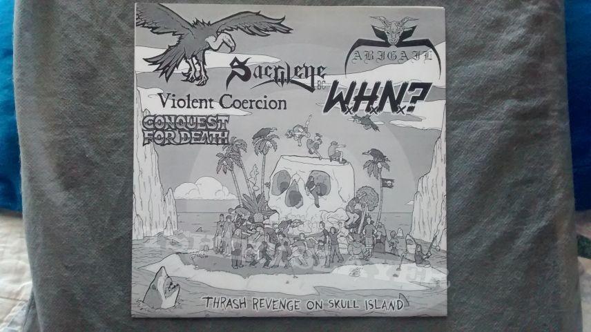 """Thrash Revenge On Skull Island 7"""" EP"""