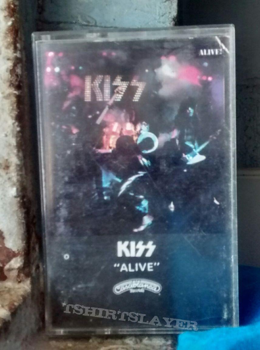 "Kiss - ""Alive!"" Tape"