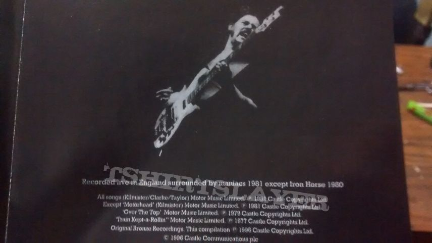 "Motörhead - ""No Sleep 'til Hammersmith"""