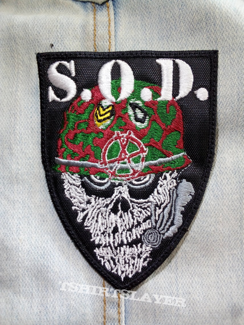 S.O.D. - Sargent D embroidered patch