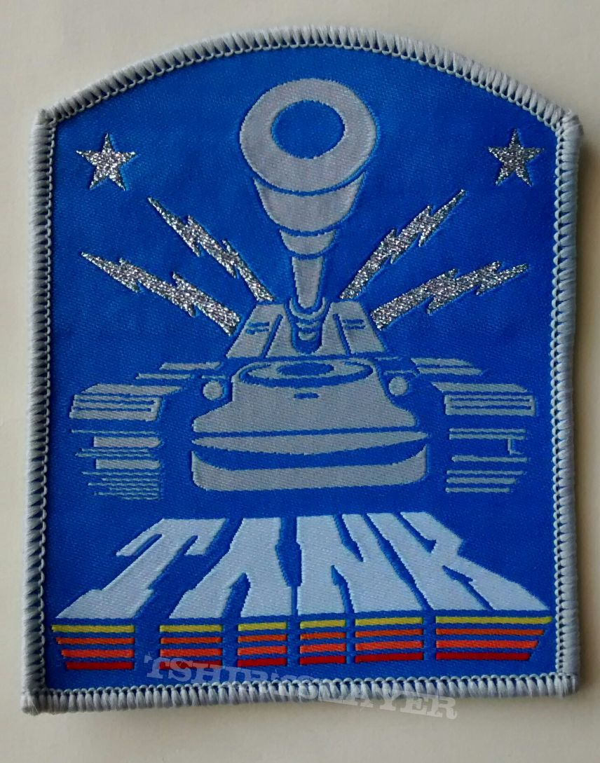 Tank woven patch