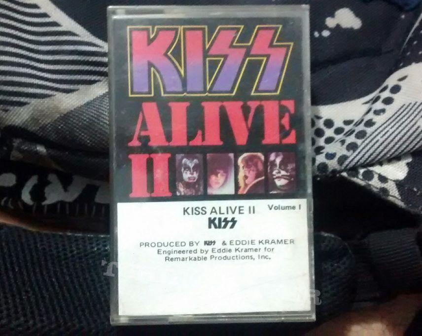 """Kiss - """"Alive II"""" Volumen I"""