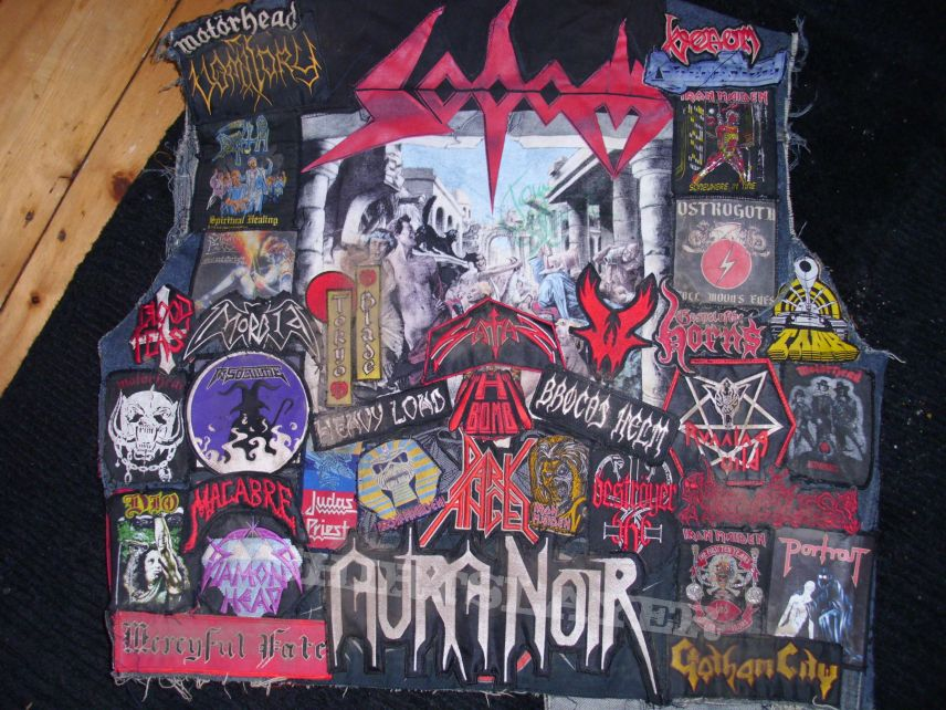 old school vest