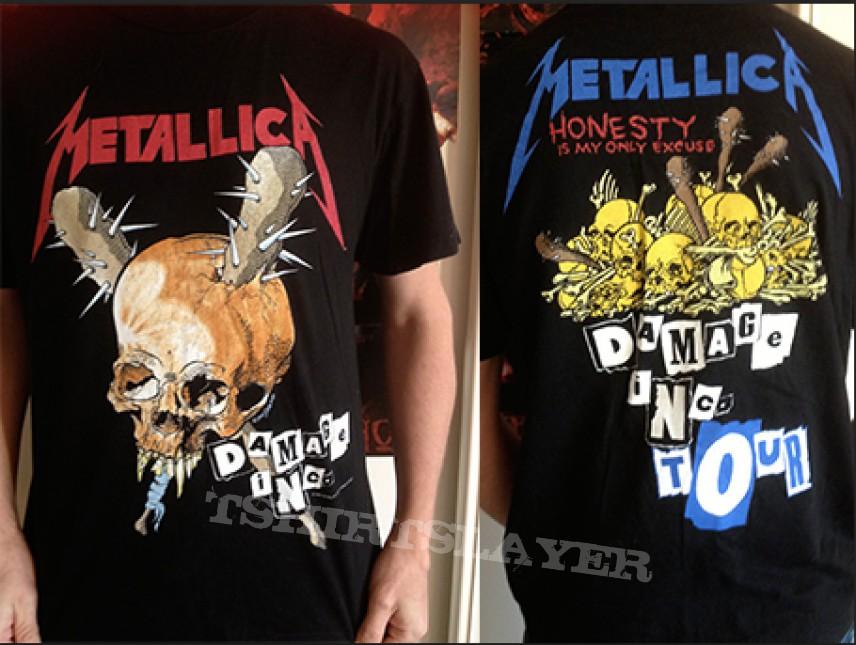 Metallica Damaged Inc. 1994