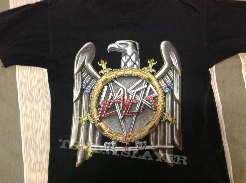 slayer 1991 europe&japan tour