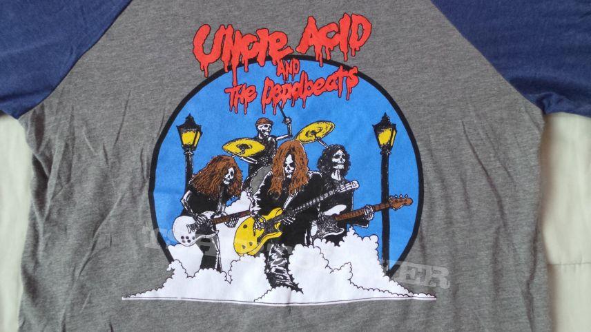 Uncle Acid & The Deadbeats - Skulls 3/4 Sleeve Baseball Tee