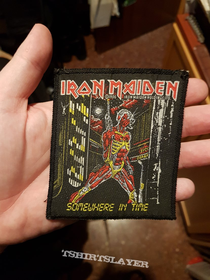 "Iron Maiden ""Somewhere in time"" patch"
