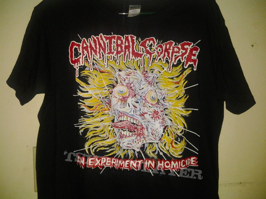 Cannibal Corpse-An Experiment In Homicide Shirt