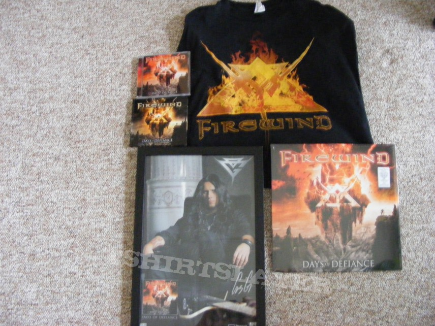 New CDS , T-shirts, & posters signed.