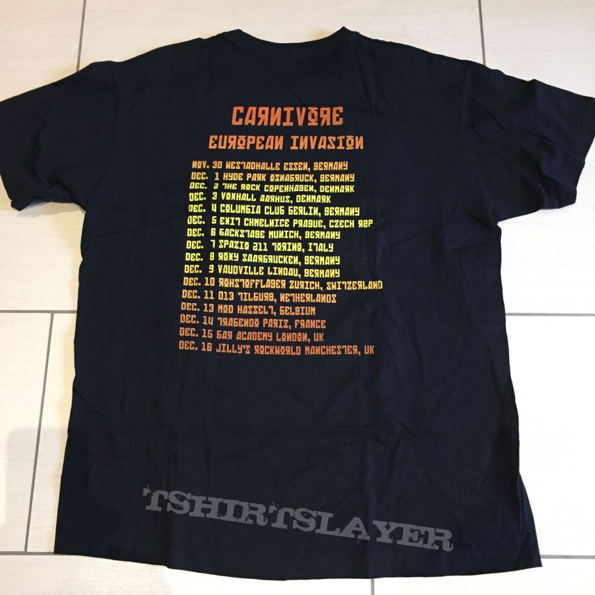 Carnivore - European Invasion (Tourshirt)