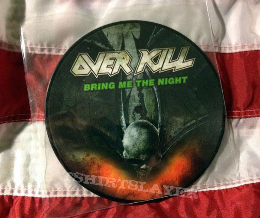 Overkill vinyl collection