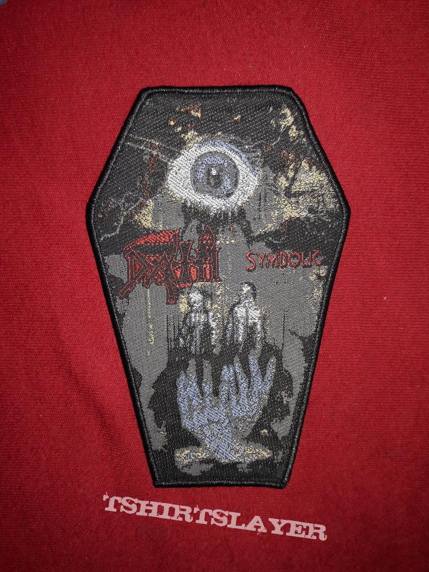 Death Symbolic Coffin Patch