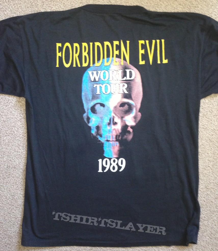 FORBIDDEN Forbidden Evil Tour Shirt 89