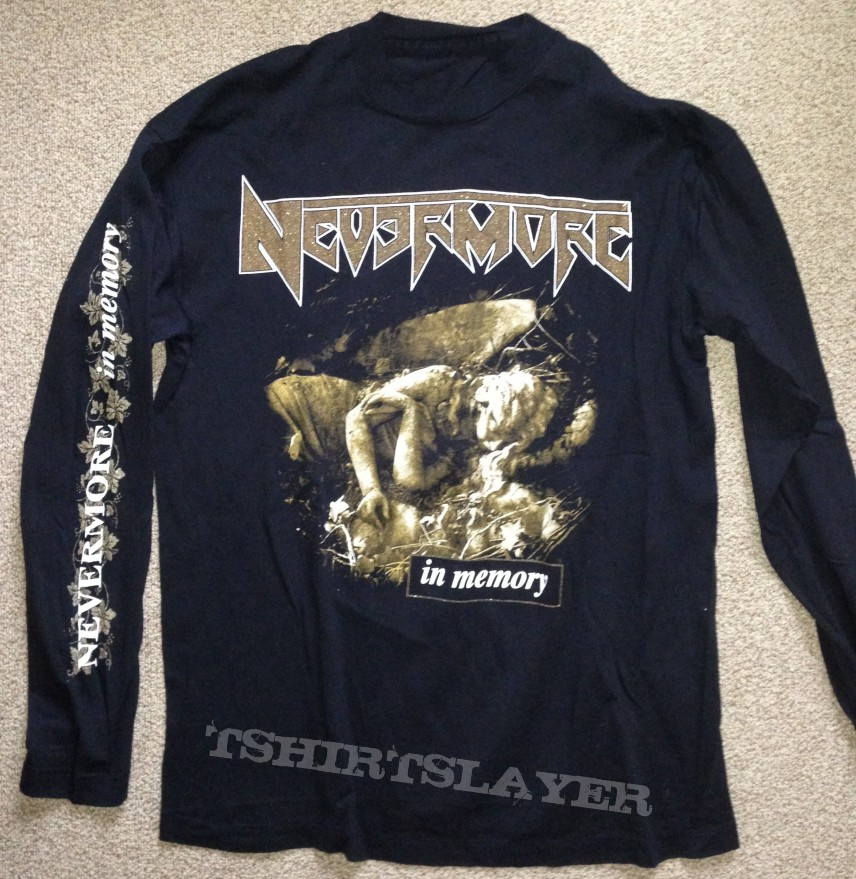 d65608bc NEVERMORE In Memory 96   TShirtSlayer TShirt and BattleJacket Gallery
