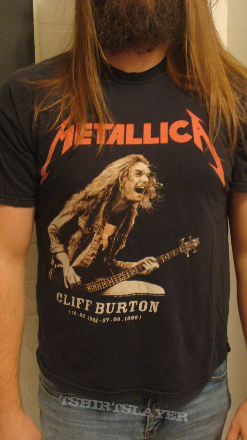 cliff burton metallica tribute shirt tshirtslayer tshirt and