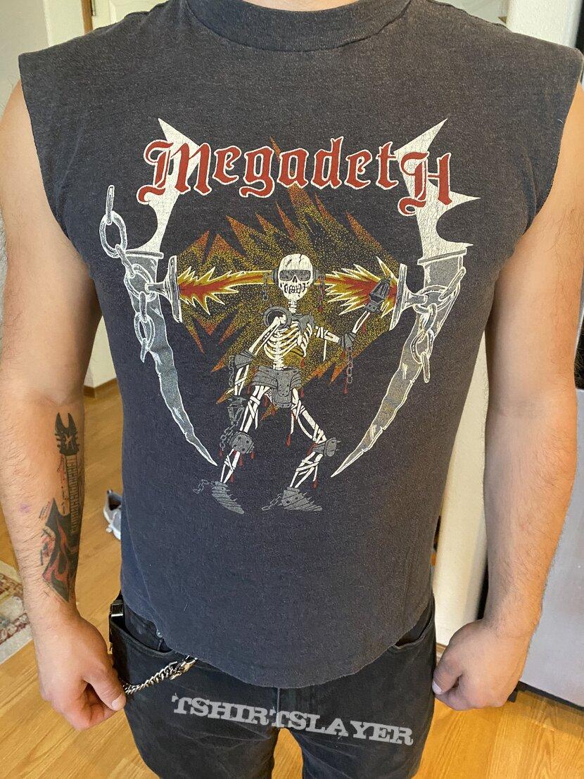 Megadeth 1985 tour shirt