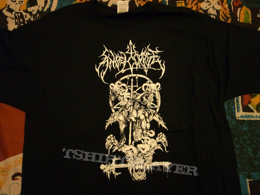 """Angelcorpse """"Bestial Storms of Mutilation"""" tshirt"""