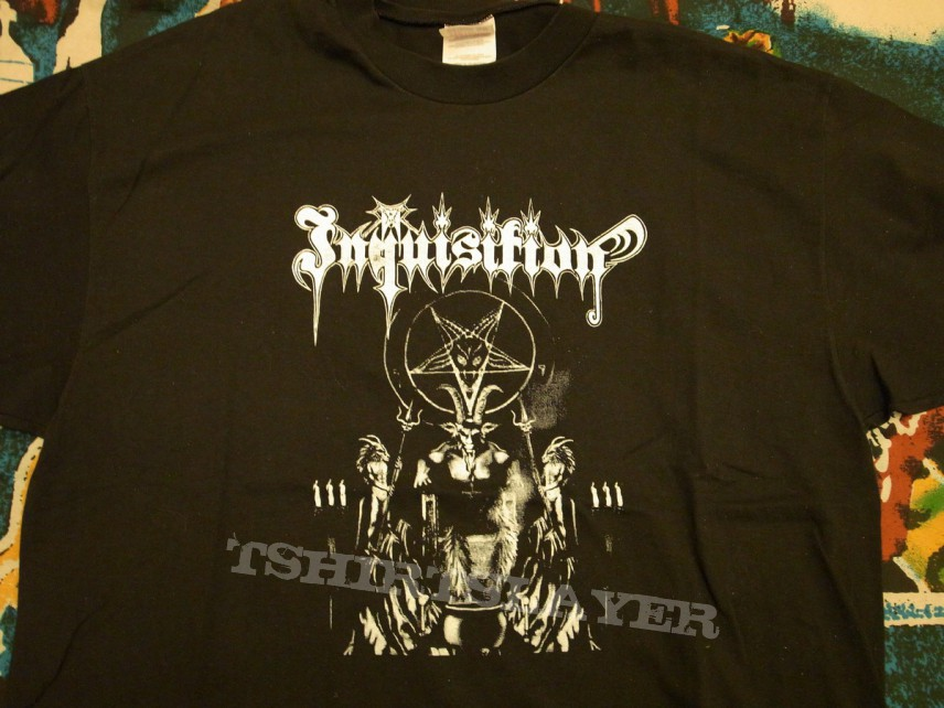 "Inquisition ""Invoking the Majestic Throne of Satan"" tshirt"