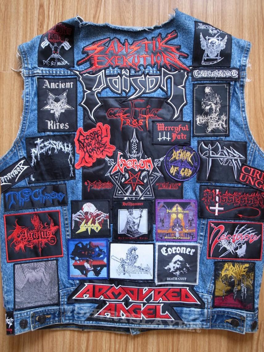 My extreme metal vest