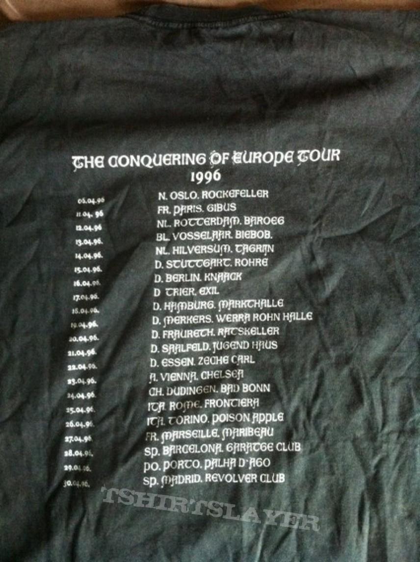 Satyricon Nemesis Divina tour Shirt 1996