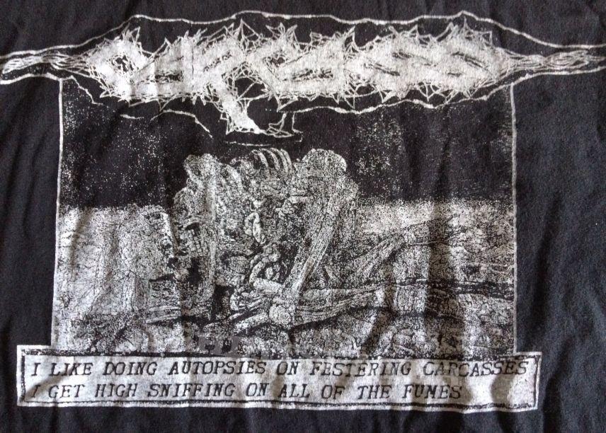 Carcass 'Flesh Ripping Sonic Torment' shirt