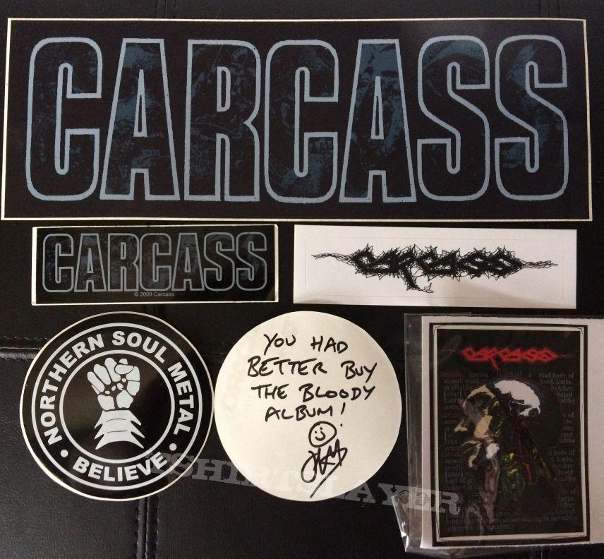 Carcass stickers
