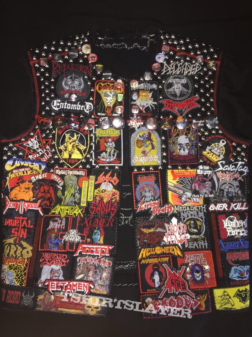 Battle Vest (heavy, speed, power, thrash, death, black, doom)